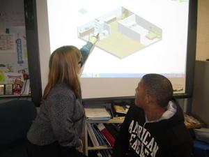 Pleasantville H.S. business students use software to learn life lessons