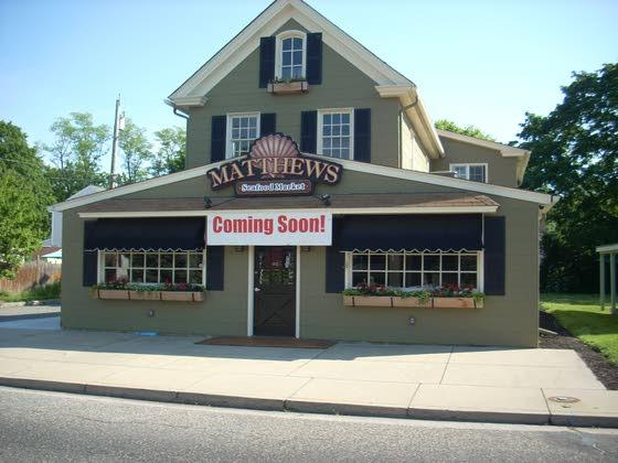 Coming soon: Matthews Seafood Market to bring fresh seafood to Cape May Court House