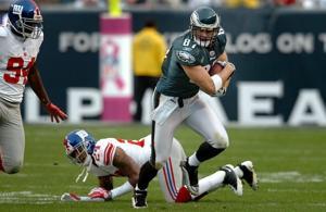 Brent Celek Eagles vs. Giants 2009