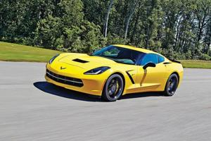 Smitten and Bitten by a Stingray: 2014 Corvette