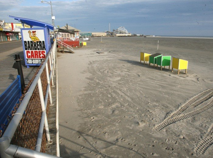 Wildwood beach fees