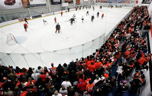 Flyers Camp Hockey