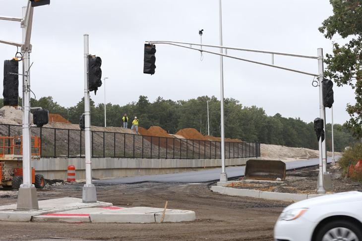 Construction Nearing Completion At Parkway S Exit 41 In