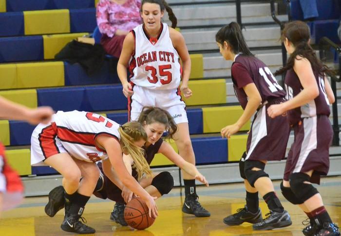 ocean city girls basketball
