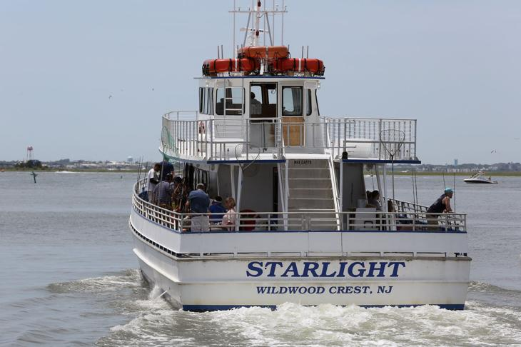 Explore the shore party boats press of atlantic city for Wildwood nj fishing charters