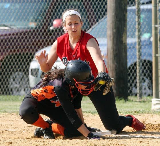 Softball roundup: Middle Township takes advantage of 10 walks to beat Cinnaminson
