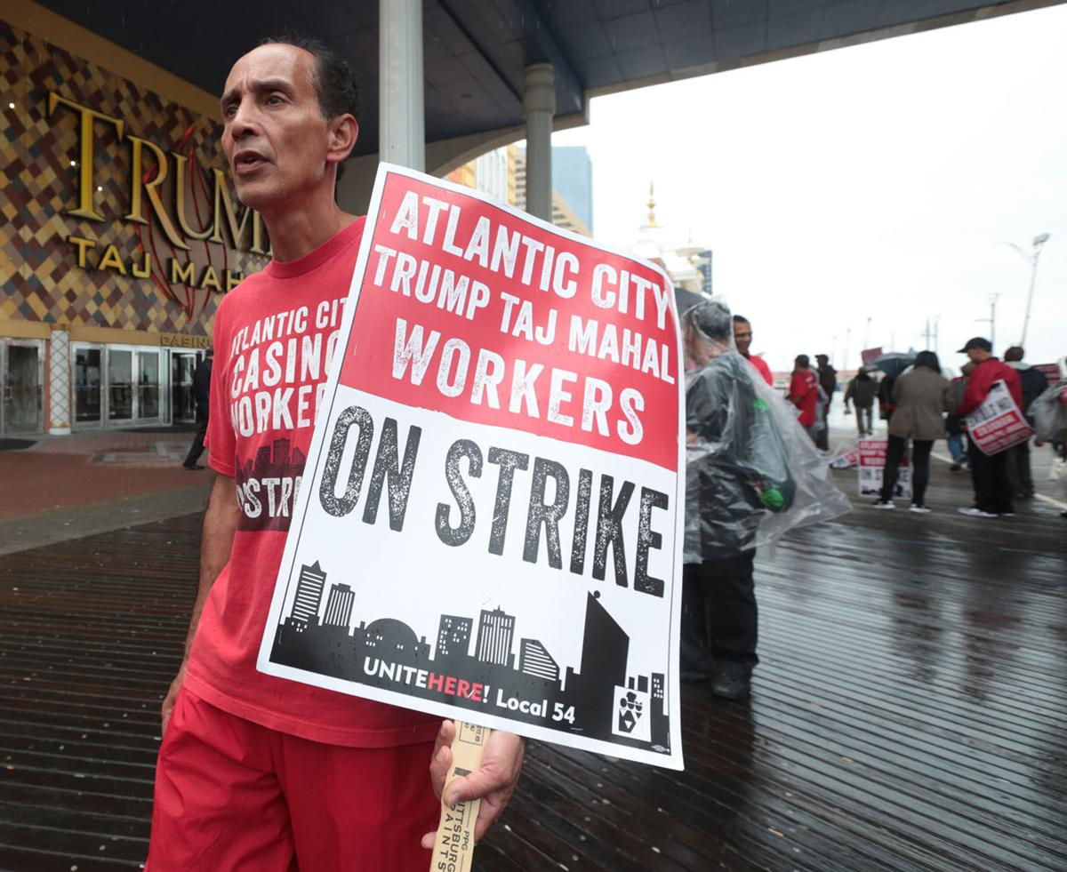 Local 54 90th day on strike