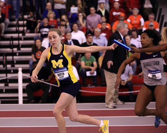 Jill Smith discovers fastest path to glory for Michigan