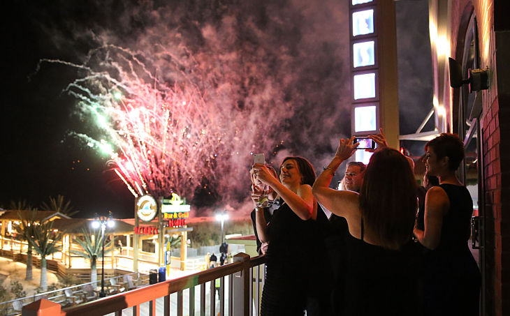 Inaugural Ball Fireworks