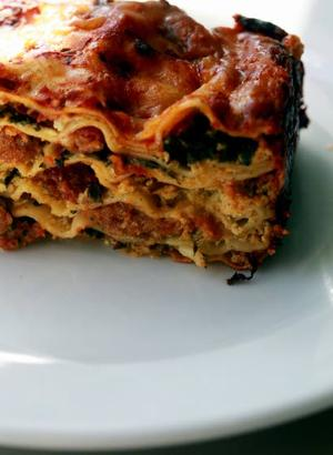 Small lasagna recipe fills the bill when cooking for two