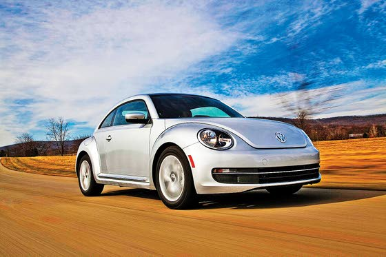 VW Calls 2013 Turbo Beetle 'Frugal'