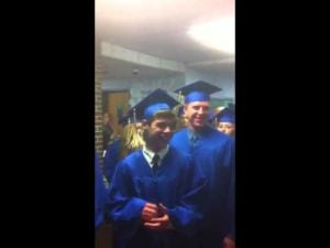Buena Regional High School seniors enter graduation 2013