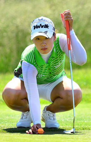 LPGA: Chella Choi, 1st hole. Friday May 31 2013 LPGA ShopRite Classic at Seaview Resort in Galloway. Day 1 (The Press of Atlantic City / Ben Fogletto)  - Photo by Ben Fogletto