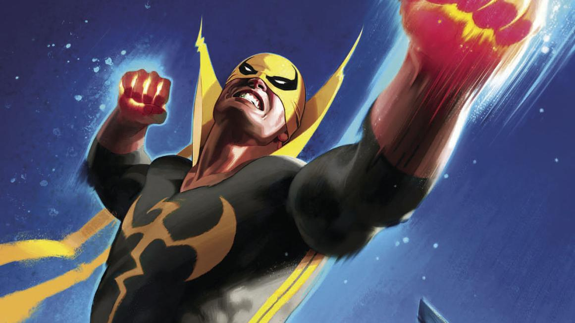 Covers and preview art from Marvel's Iron Fist #1, out March 22