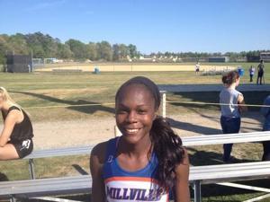 Girls track and field MVP: Rachell Armstead, Millville