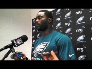 Michael Vick post-game news conference