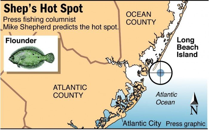 Shep on fishing lindenkohl canyon other offshore spots for Lbi surf fishing report