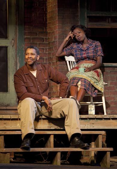Denzel Washington shines  in 'Fences' on Broadway
