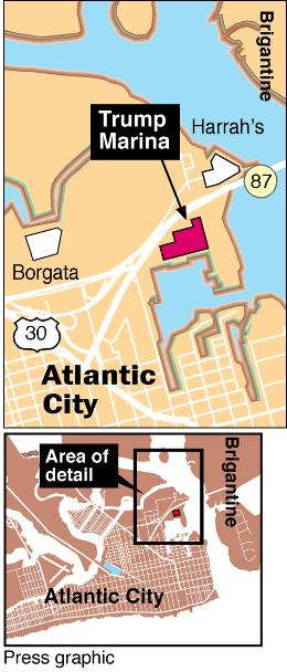 Trump Marina map