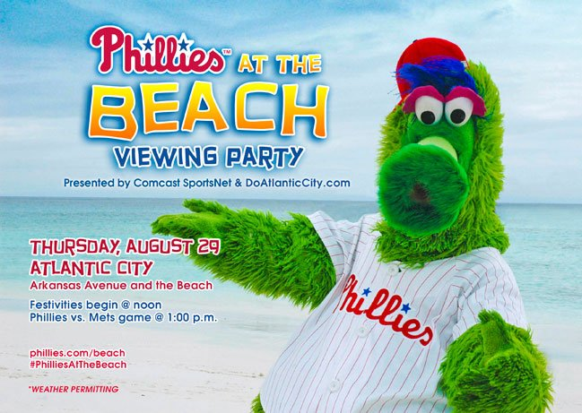 Phillies Beach Party
