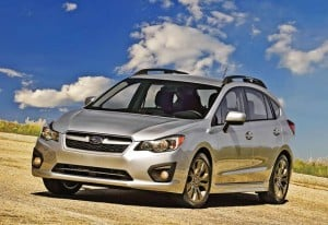 2012 Subaru Impreza: Most Efficient AWD Car in America