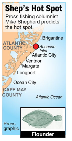 Shep Hot Spot croaker Atlantic City T-Jett