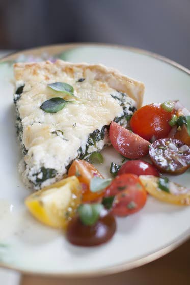Make mom a tart that's part quiche, part lasagna