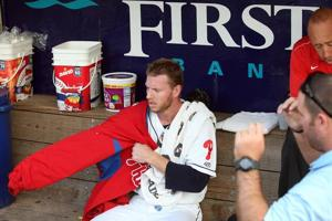 Halladay shows good and bad in rehab startPhillies' ace missing his all-star form