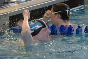Atlantic City's Colleen Callahan, St. Augustine Prep's Paul Gallagher swim to Meet of Champions titles