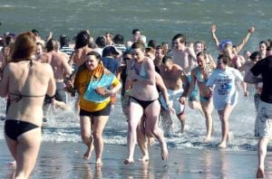 Polar Bear Plunge hits the beach in Sea Isle City today