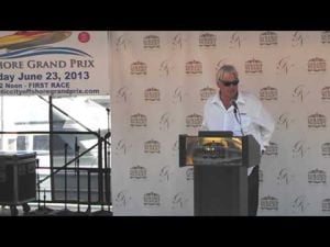 Powerboat driver Gary Goodell talks about the Atlantic City Grand Prix