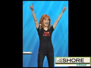 Audio interview with Kathy Griffin