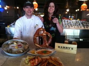 Serving up fall's offering of fresh seafood