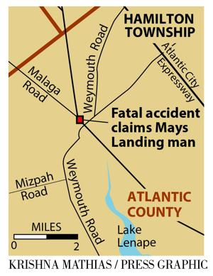 One dead after crash in Hamilton Township
