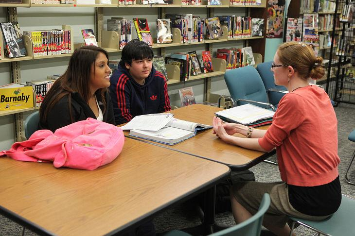 Teen group meets at library