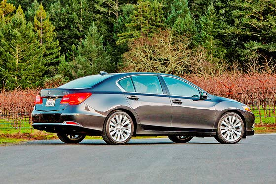 New Acura Flagship Sedan: 2014 RLX