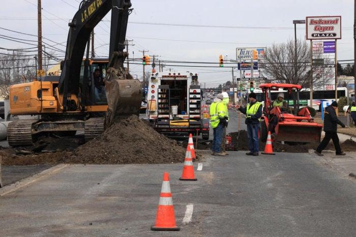 Tilton Road Gas Break