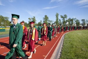 'First in four' class graduates from Cedar Creek High School