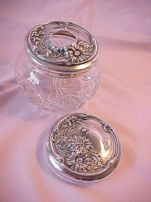 Antiques & Collectibles: Vanity jars fascinate various collectors