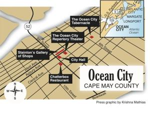Ocean City map