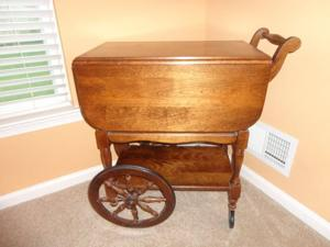 Antiques & Collectibles: Tea carts are linked to centuries of tradition