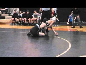 Southern Regional's Chris Crane wrestling against Shawnee on Feb. 15, 2013.
