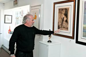Ventnor's David Holtzman living an artist's dream life