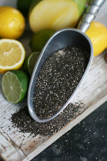 For protein, fiber and fun think ch-ch-ch-chia