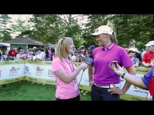 Katherine Hull Final Round Interview from the 2012 ShopRite LPGA Classic
