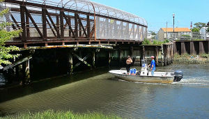 BRIDGES: Ohio Avenue Bridge connecting main island to Venice Park is closed.  - Ben Fogletto