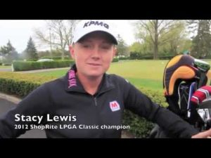 Stacy Lewis at LPGA  Shoprite Classic Media Day