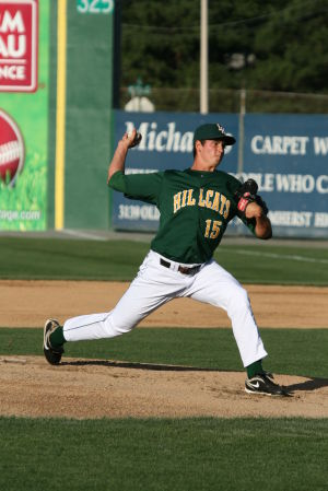 A.J. Holland: Holy Spirit High School graduate A.J. Holland has pitched well for the Lynchburg Hillcats this season.