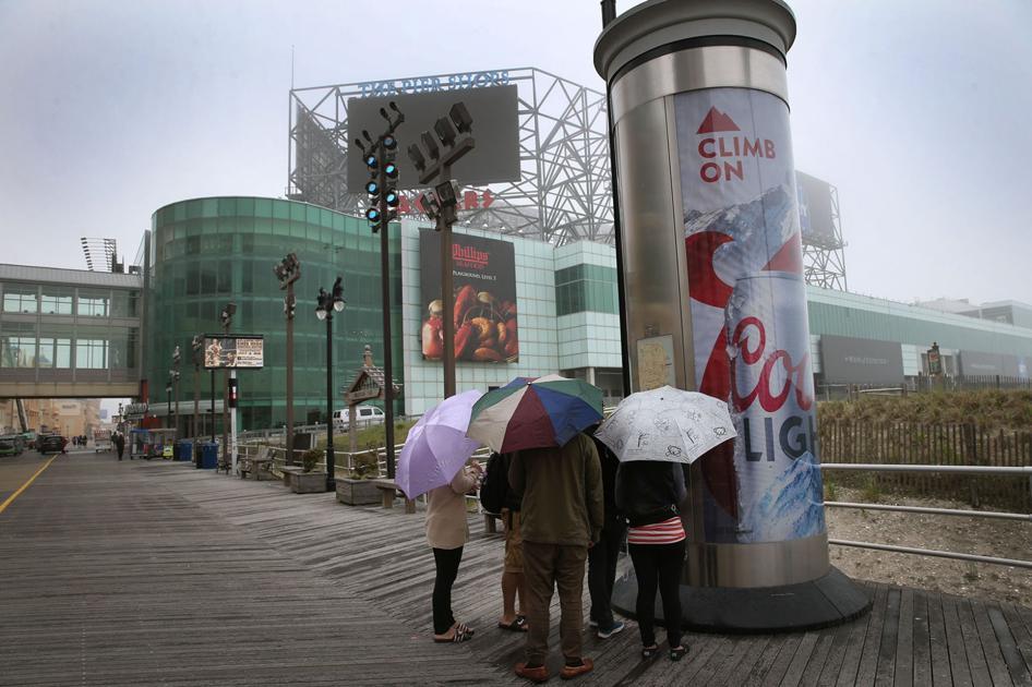 Photo Gallery: Rainy Day Blues - Press of Atlantic City: Photo Galleries