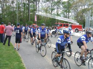 Police Unity: Officers ride to support those who died in the line of duty.  - Joel Landau